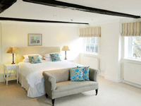 Summer dinner, bed & breakfast, with a little twinkle, from £150 per room