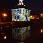 The Custom House lit up as never before