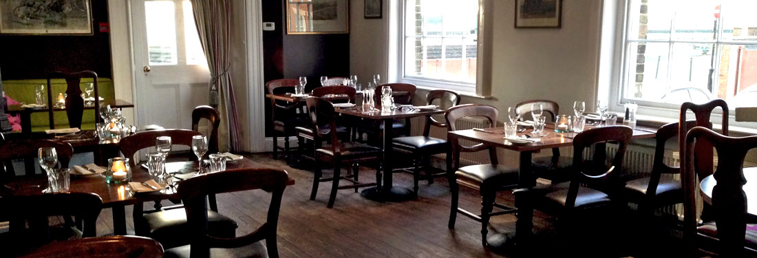 Relaxed restaurant at Bank House King's Lynn