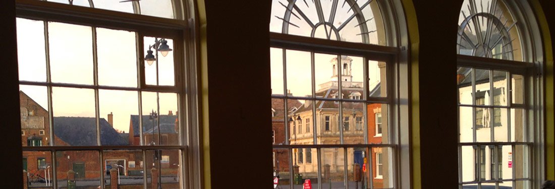 View from Bank House hotel and restaurant in King's Lynn