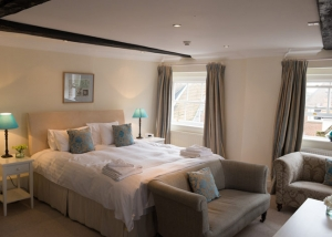 Luxury bedrooms at Bank House hotel in King's Lynn